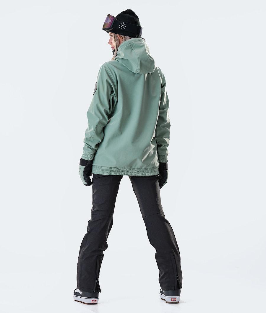Dope Wylie Capital W Women's Snowboard Jacket Faded Green
