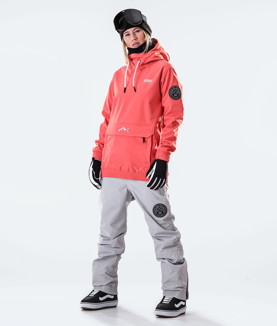Dope Wylie Capital W Women's Snowboard Jacket Coral