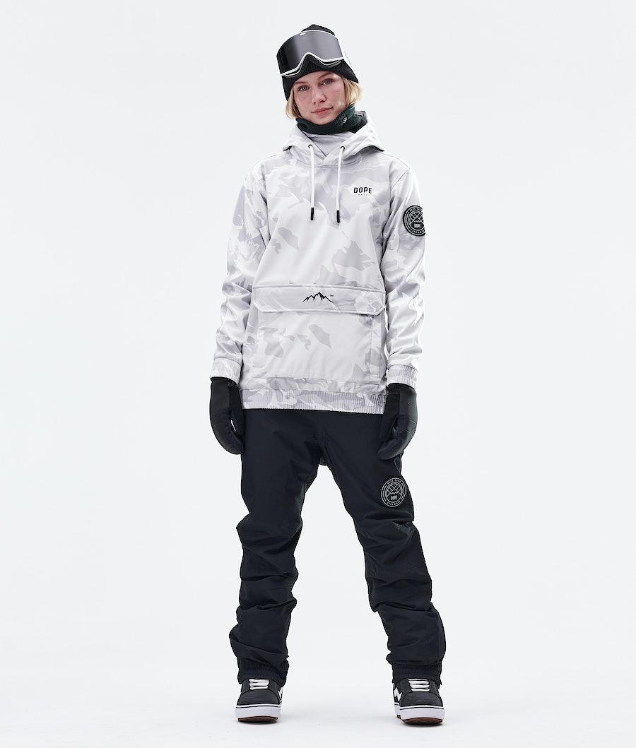 Dope Wylie Capital W Women's Snowboard Jacket Tucks Camo
