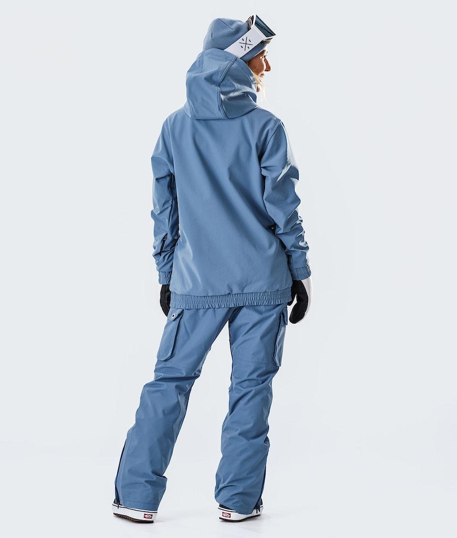 Dope Wylie Capital W Women's Snowboard Jacket Blue Steel