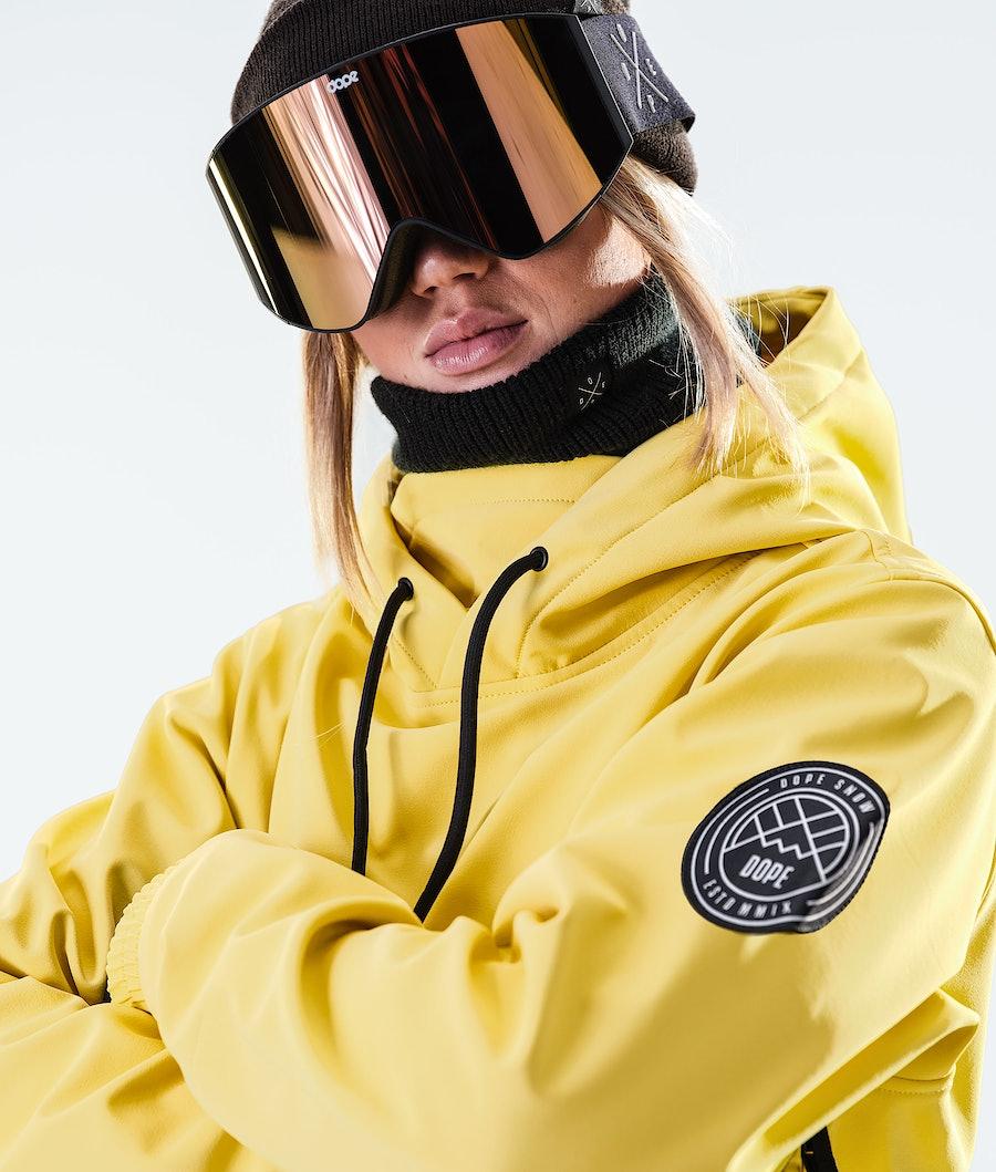 Dope Wylie W 10k Giacca Snowboard Donna Faded Yellow