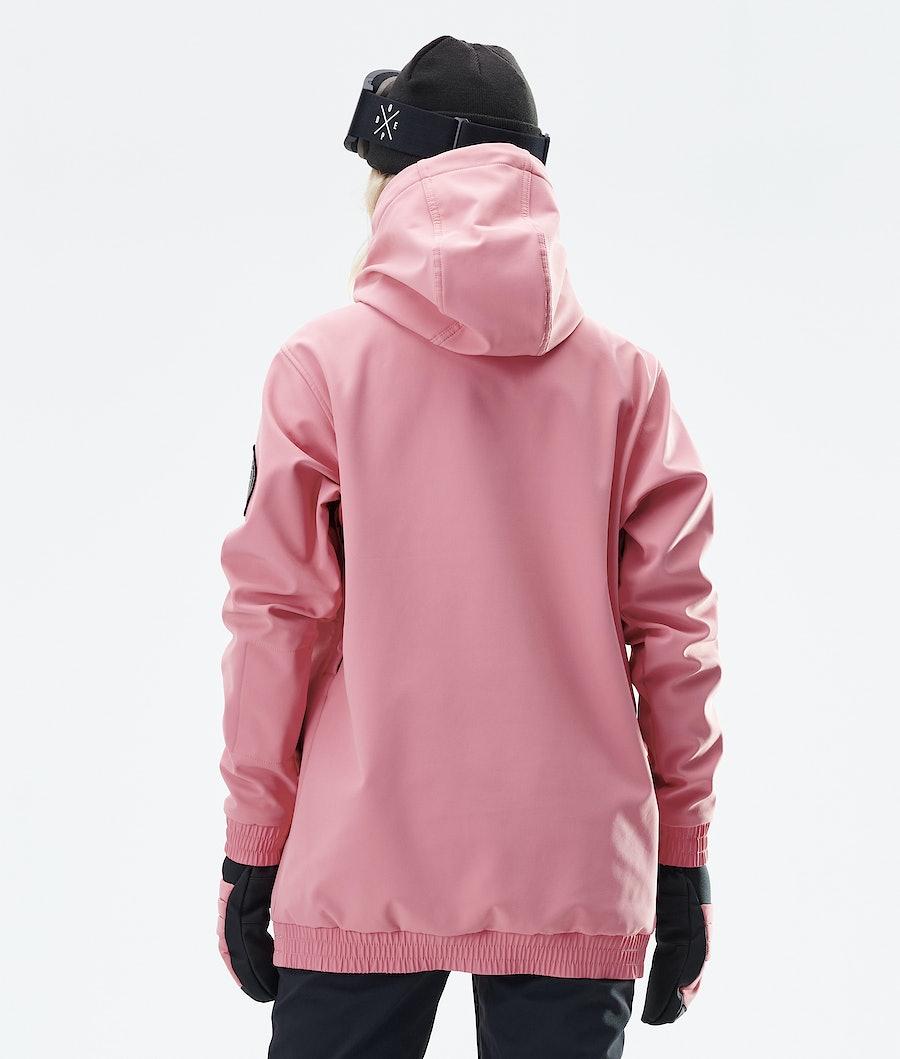 Dope Wylie Patch W Women's Snowboard Jacket Pink