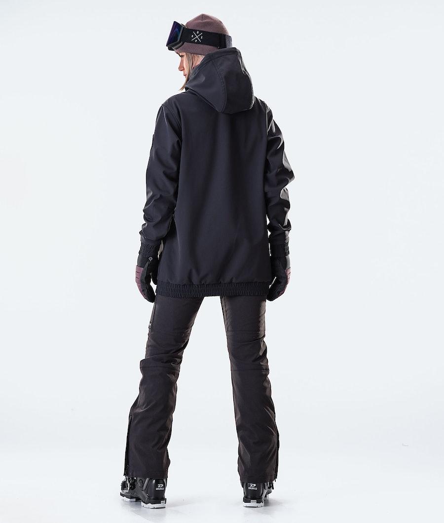 Dope Wylie Patch W Ski jas Dames Black