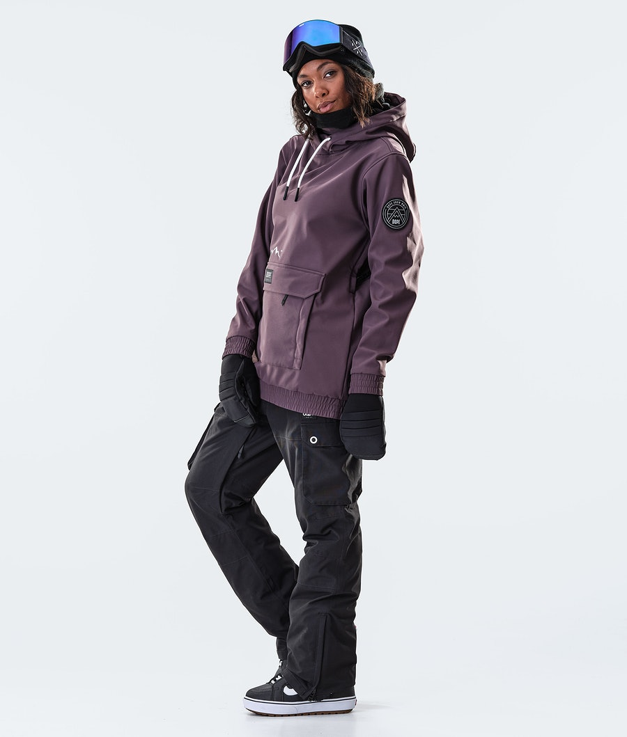Dope Wylie Patch W Women's Snowboard Jacket Light Plum