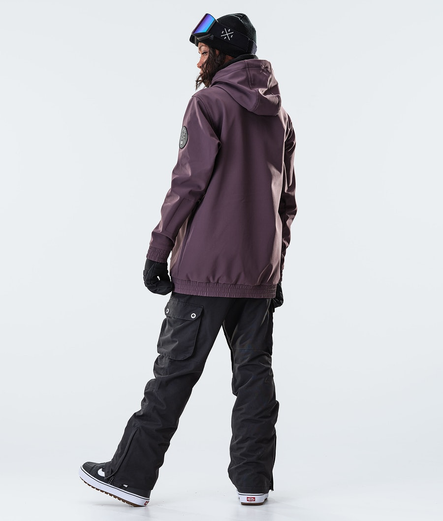 Dope Wylie W 10k Snowboardjacke Damen Light Plum