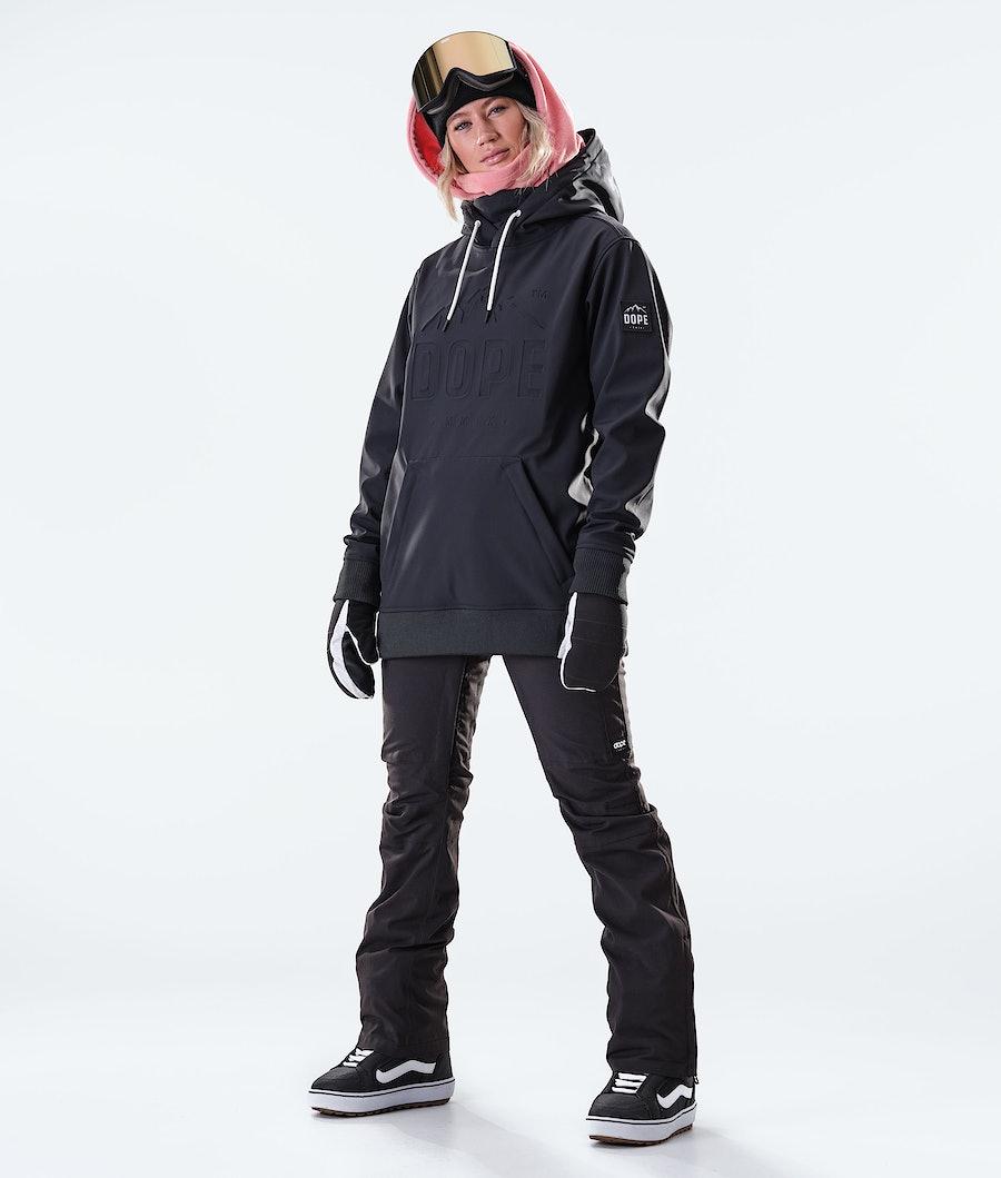Dope Yeti EMB Women's Snowboard Jacket Black