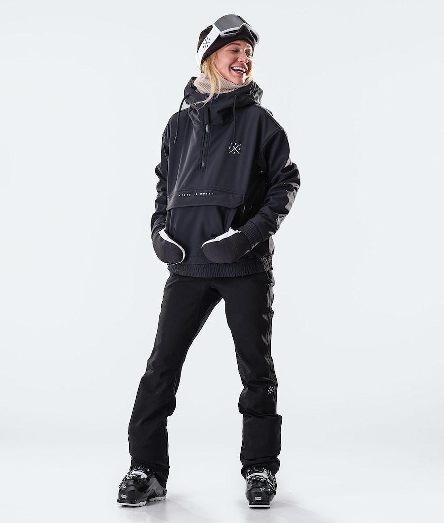 Dope Cyclone W Ski jas Dames Black