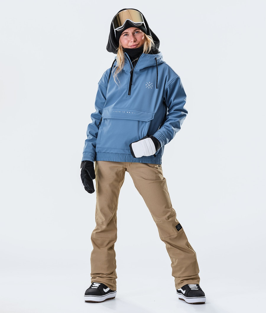 Dope Cyclone W Snowboardjacke Damen Blue Steel