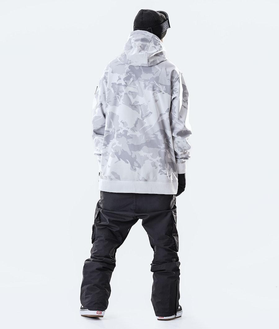 Dope Yeti Paradise Snowboard Jacket Tucks Camo