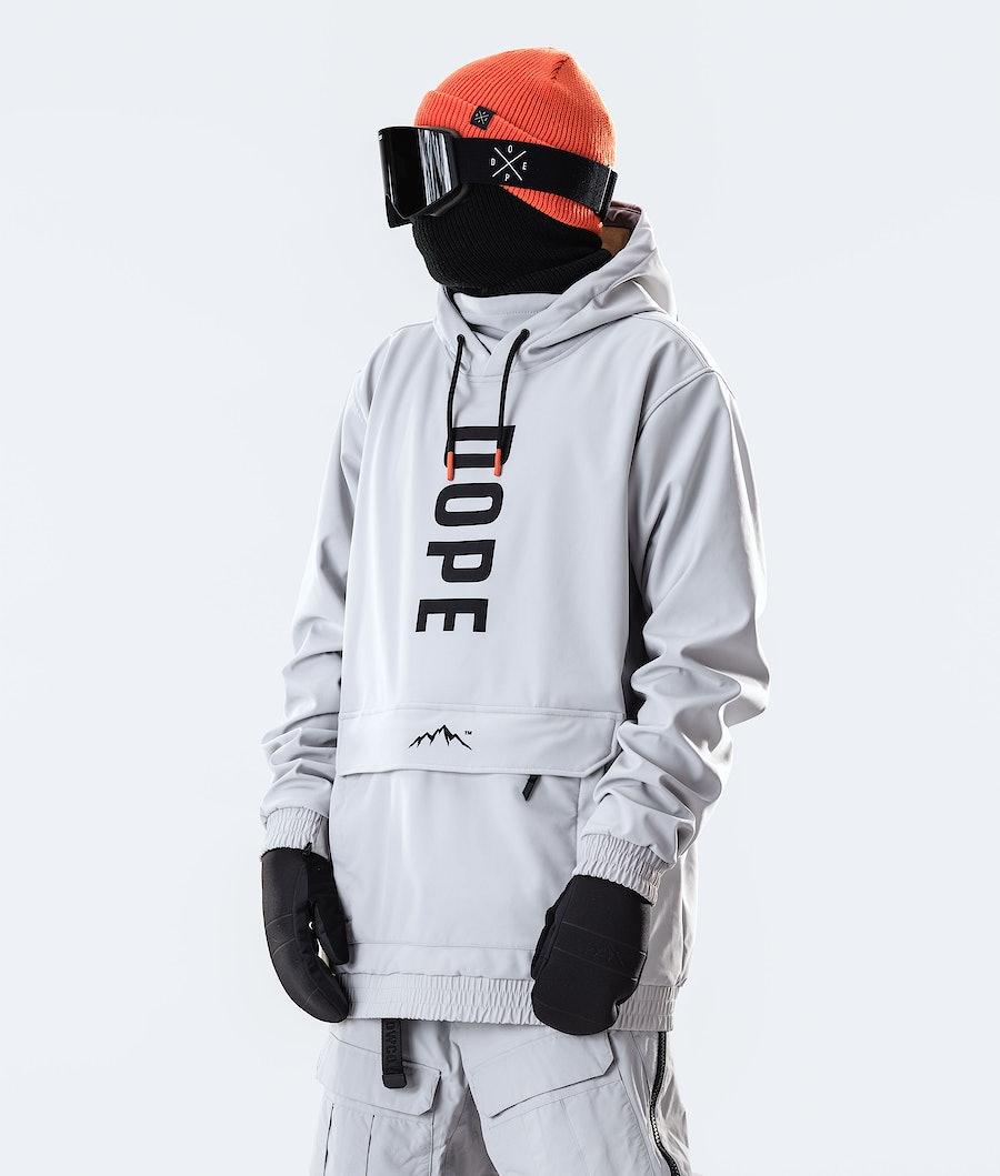 Dope Wylie OG Snowboard Jacket Light Grey