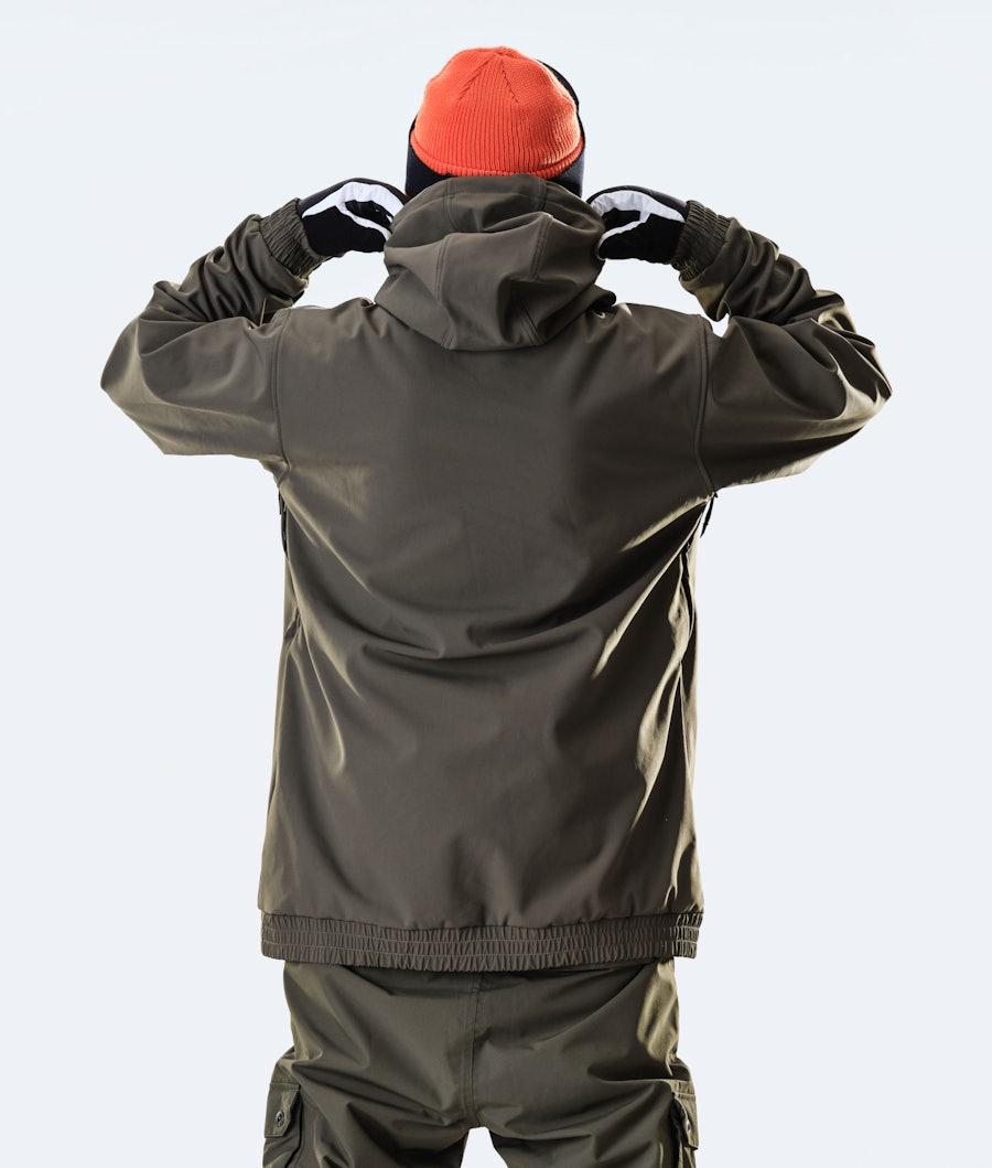 Dope Wylie OG Snowboard Jacket Olive Green