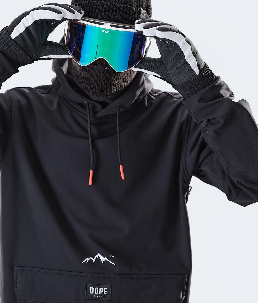 Dope Wylie 10k Giacca Snowboard Black