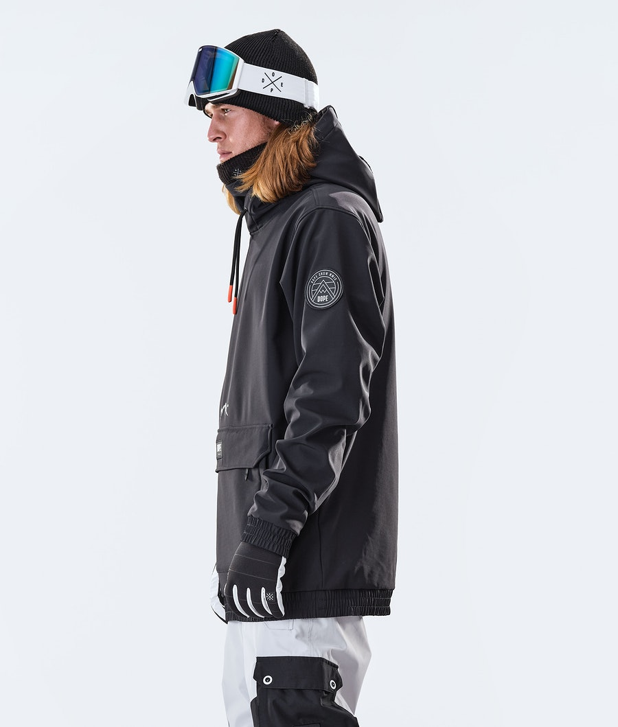 Dope Wylie Patch Snowboard Jacket Black