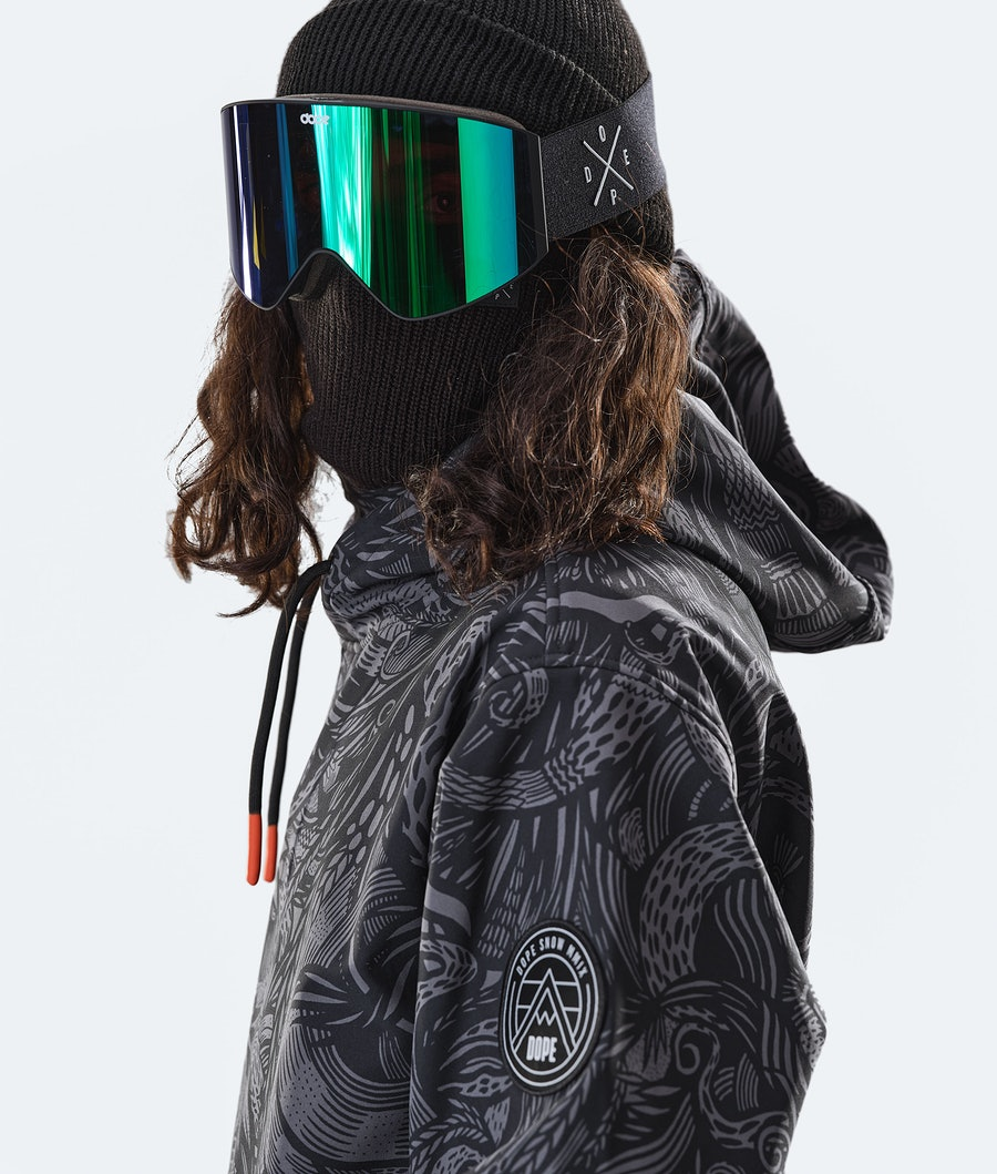 Dope Wylie Patch Snowboard Jacket Shallowtree