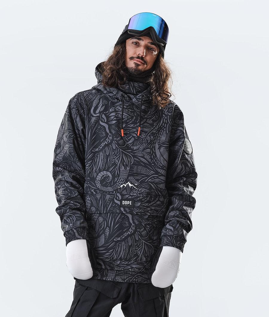 Dope Wylie 10k Ski jas Shallowtree