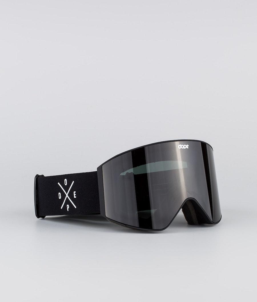 Dope Sight Medium Skibrille Black W/Black Black