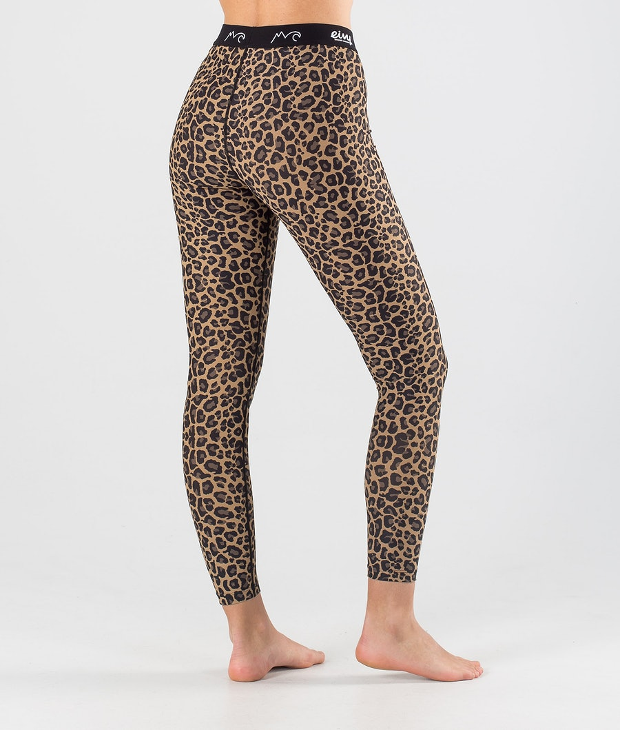 Eivy Icecold Tights Women's Base Layer Pant Leopard