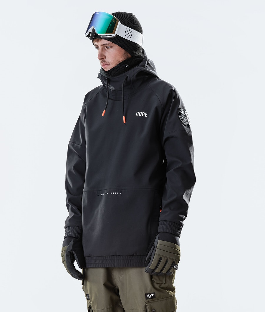 Dope Rogue Snowboard Jacket Black
