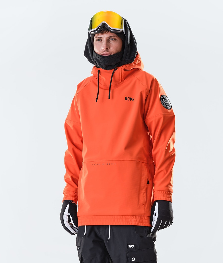 Rogue Snowboard Jacket Men Orange