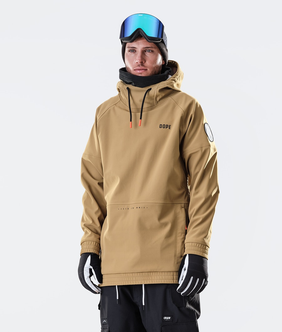 Rogue Snowboard Jacket Men Gold