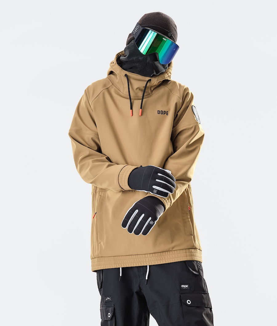 Dope Rogue Snowboard Jacket Gold
