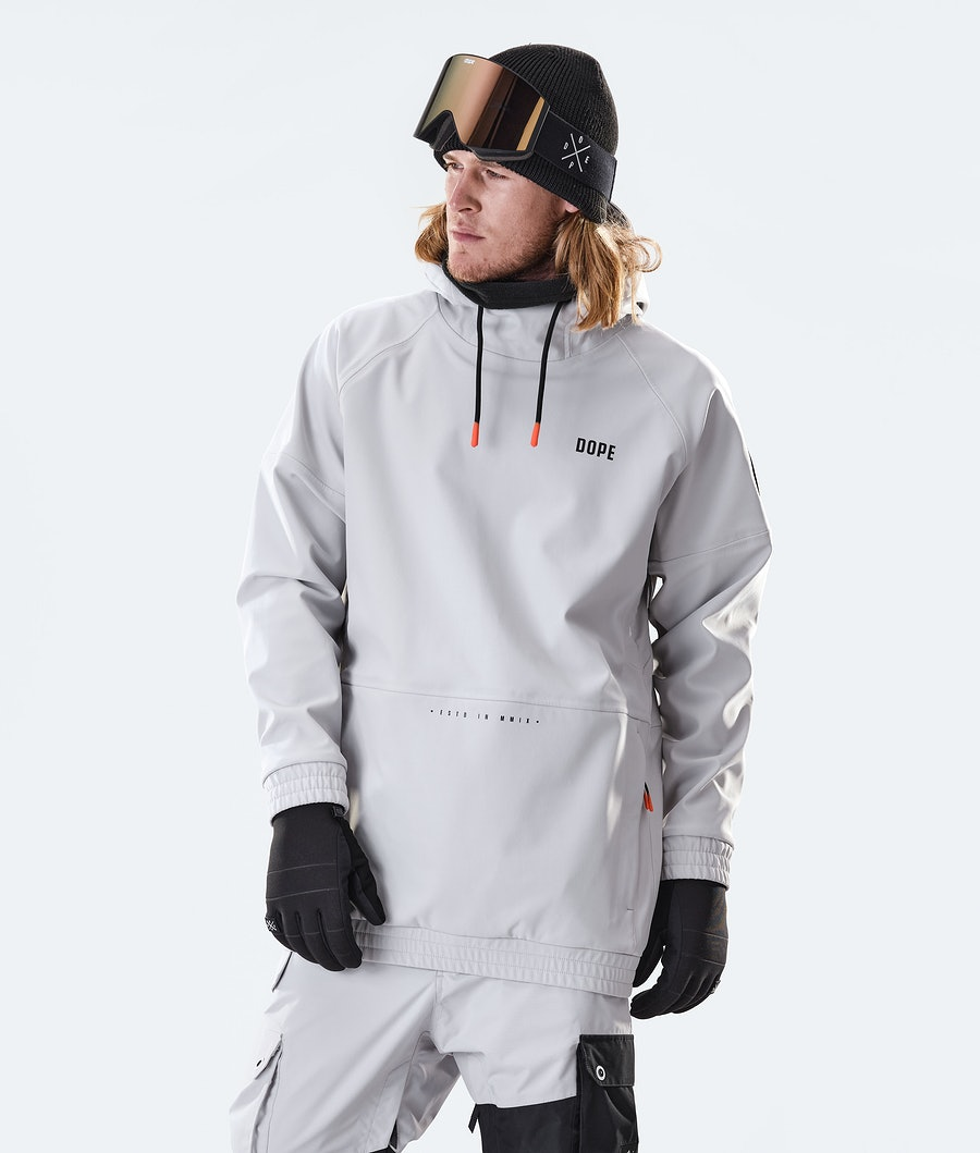 Rogue Snowboard Jacket Men Light Grey