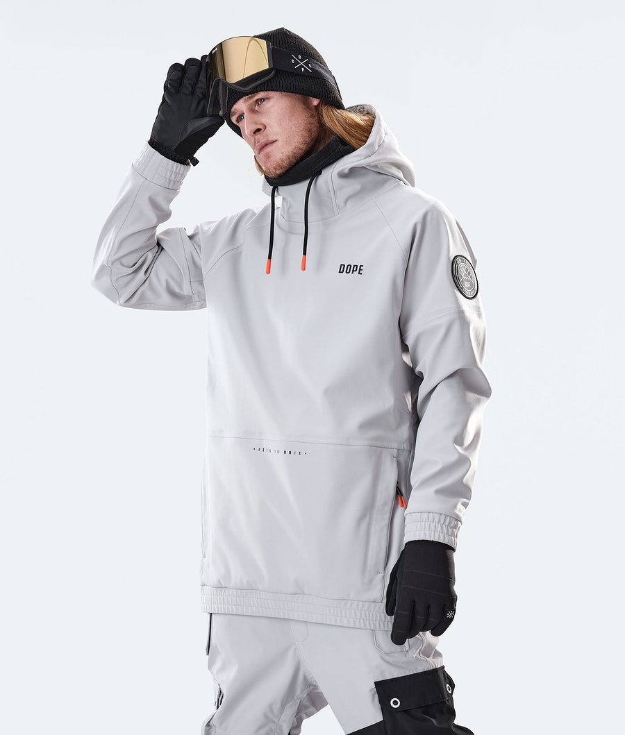 Dope Rogue Snowboard Jacket Light Grey