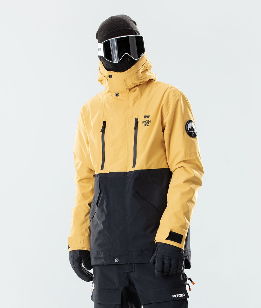 Montec Roc Snowboard Jacket Yellow/Black