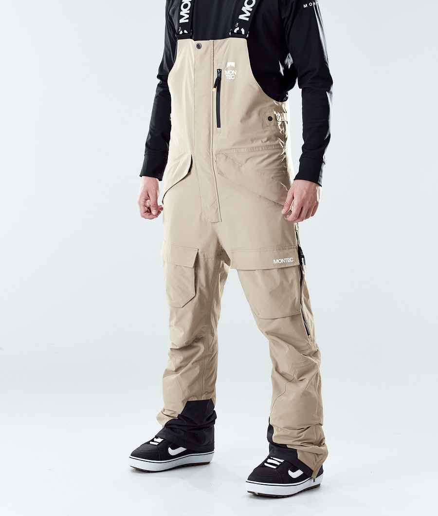 Montec Fawk Pantaloni Snowboard Khaki