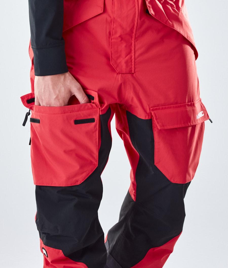 Montec Fawk Snowboard Pants Red/Black