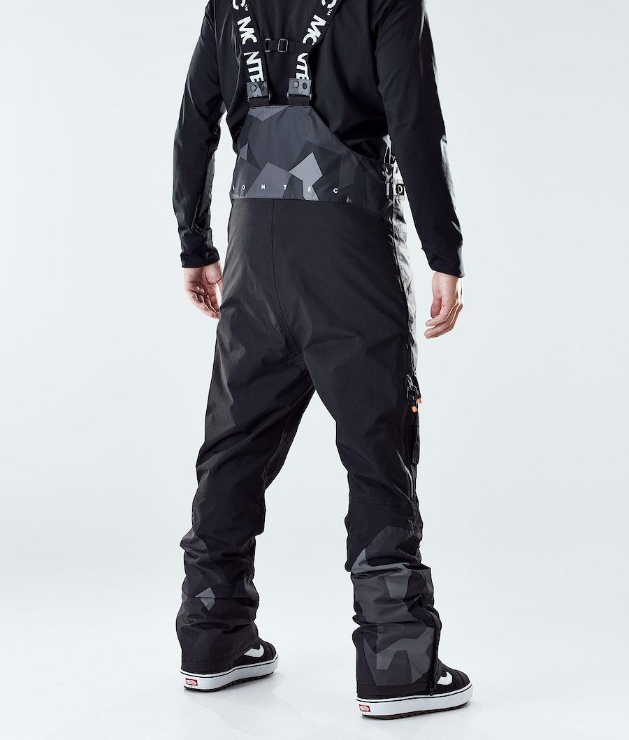 Montec Fawk Pantaloni Snowboard Night Camo/Black