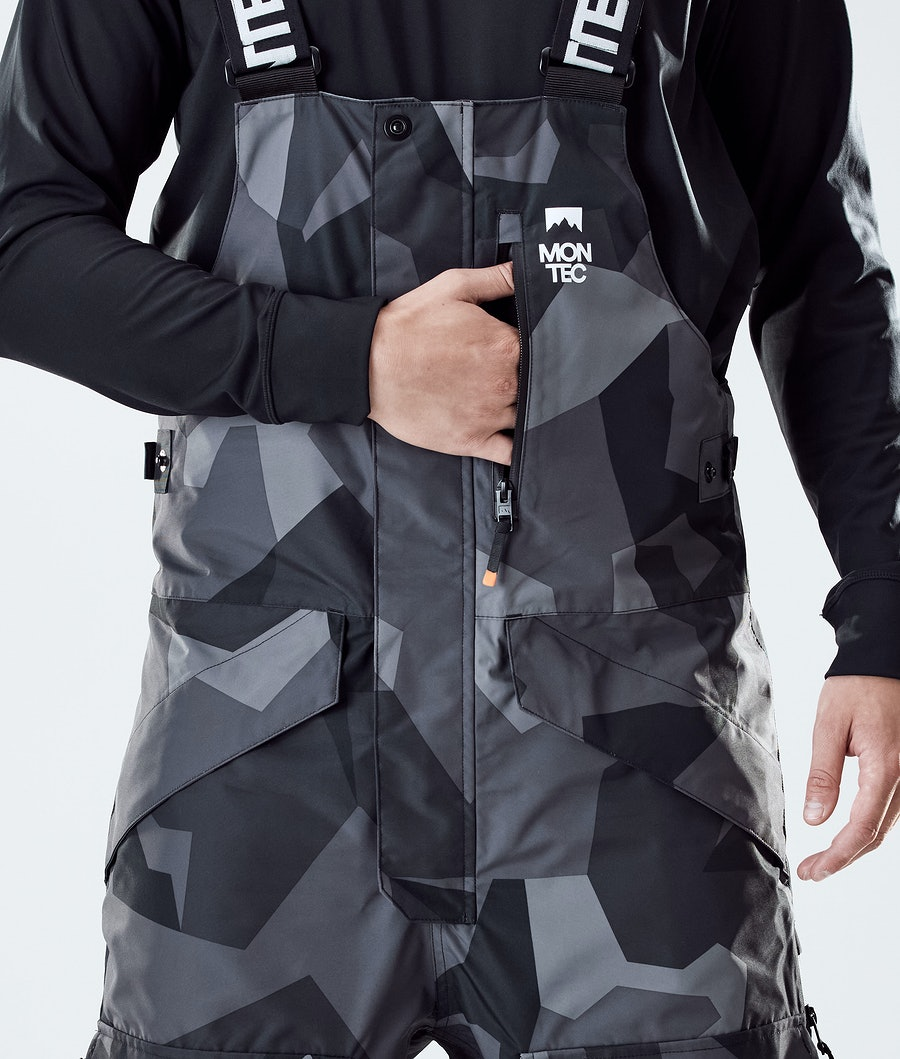 Montec Fawk Ski Pants Night Camo/Black