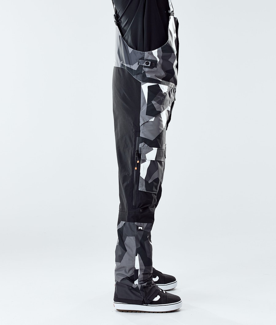 Montec Fawk 2020 Snowboard Pants Arctic Camo/Black