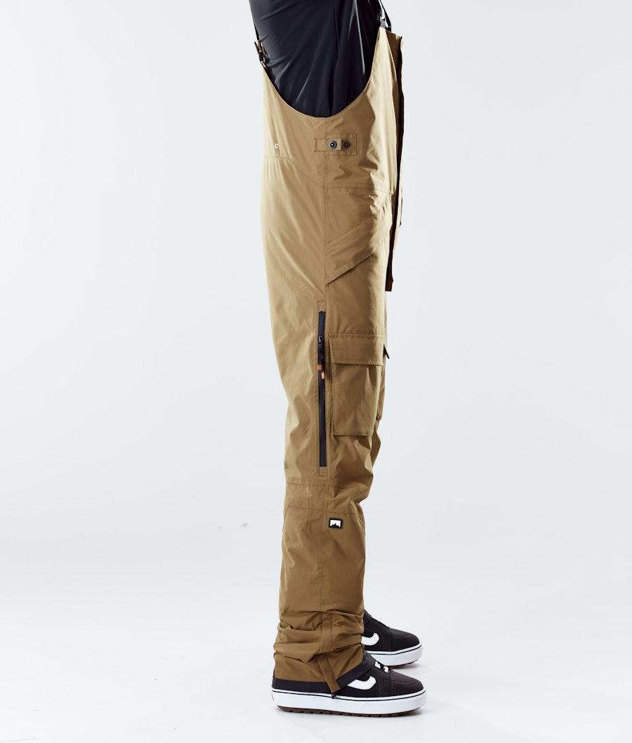 Montec Fawk Snowboard Pants Gold