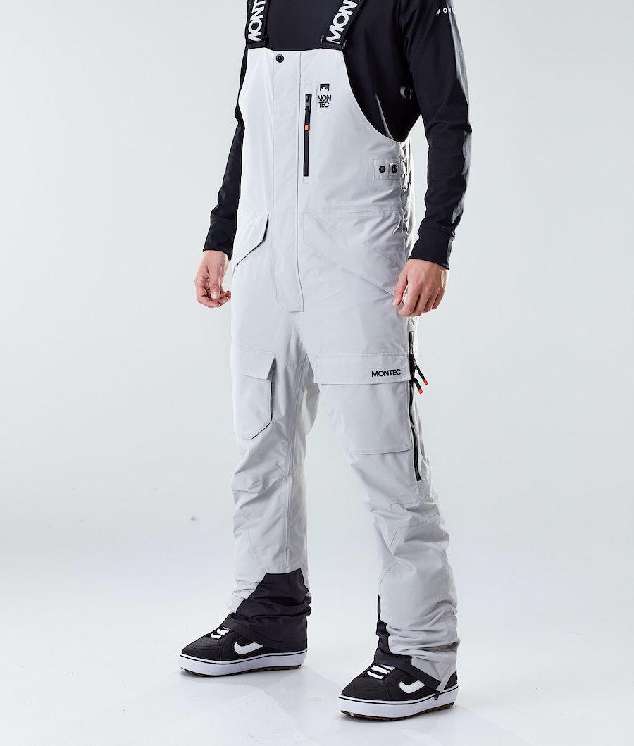 Montec Fawk Pantaloni Snowboard Light Grey