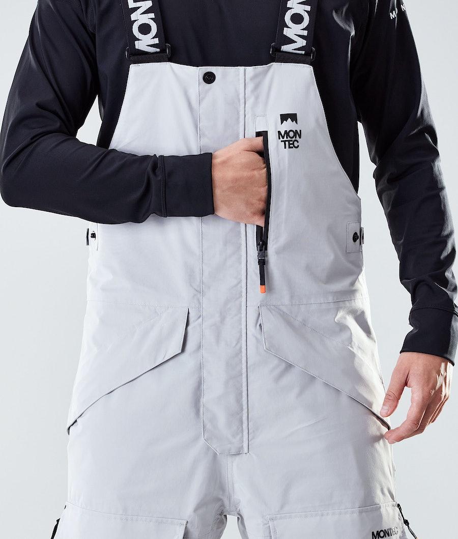 Montec Fawk Snowboard Pants Light Grey