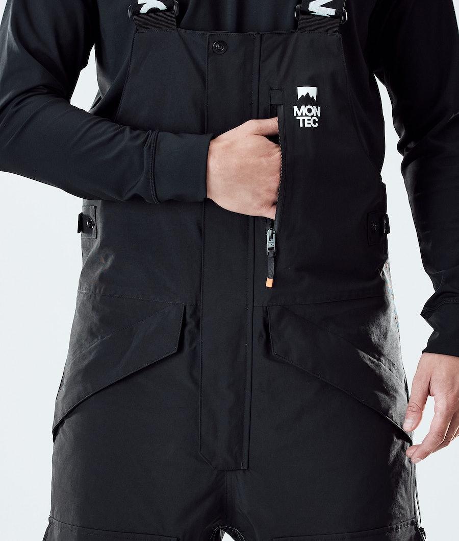 Montec Fawk Snowboard Pants Black/Atlantic