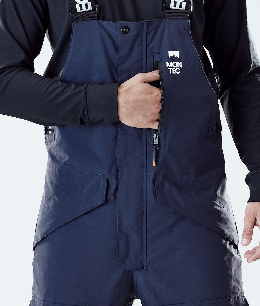 Montec Fawk Snowboard Pants Marine/Gold/Purple