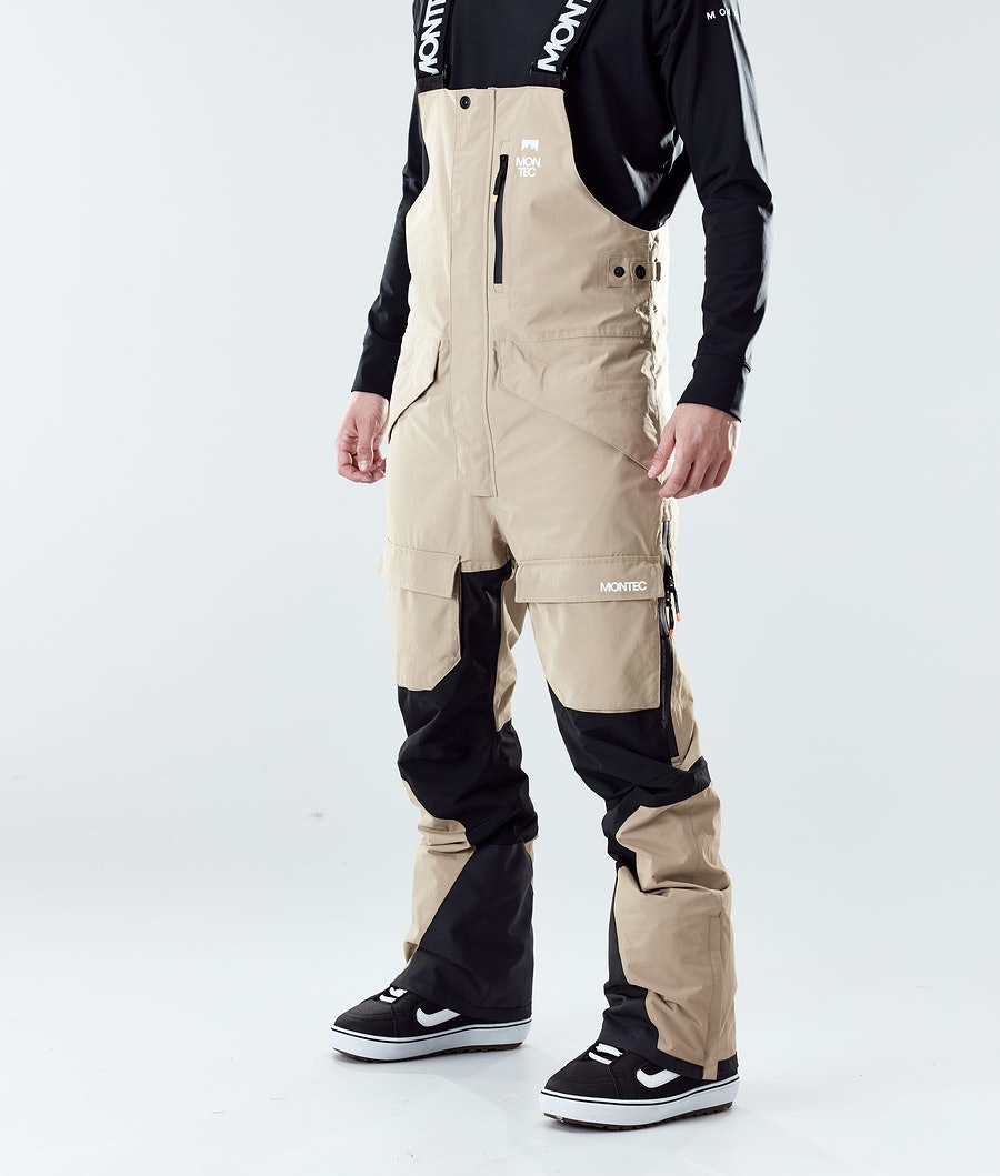 Montec Fawk Pantaloni Snowboard Khaki/Black
