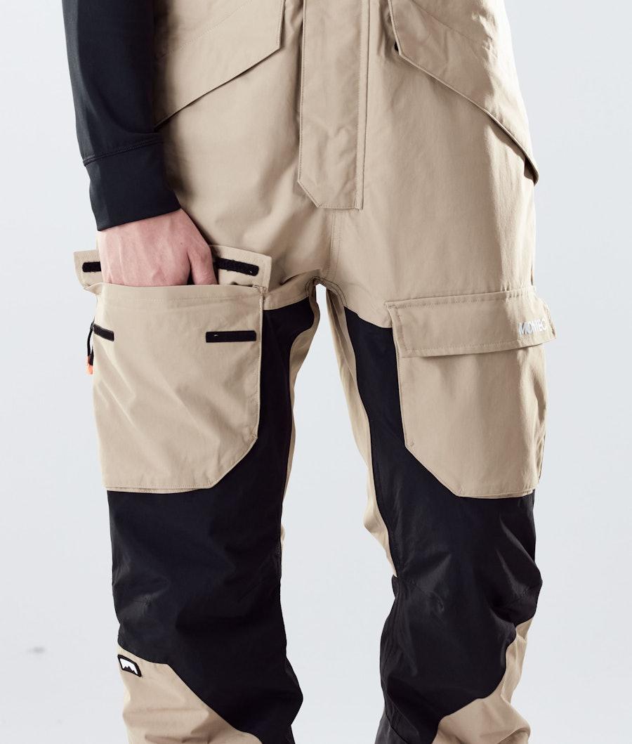 Montec Fawk Snowboard Pants Khaki/Black