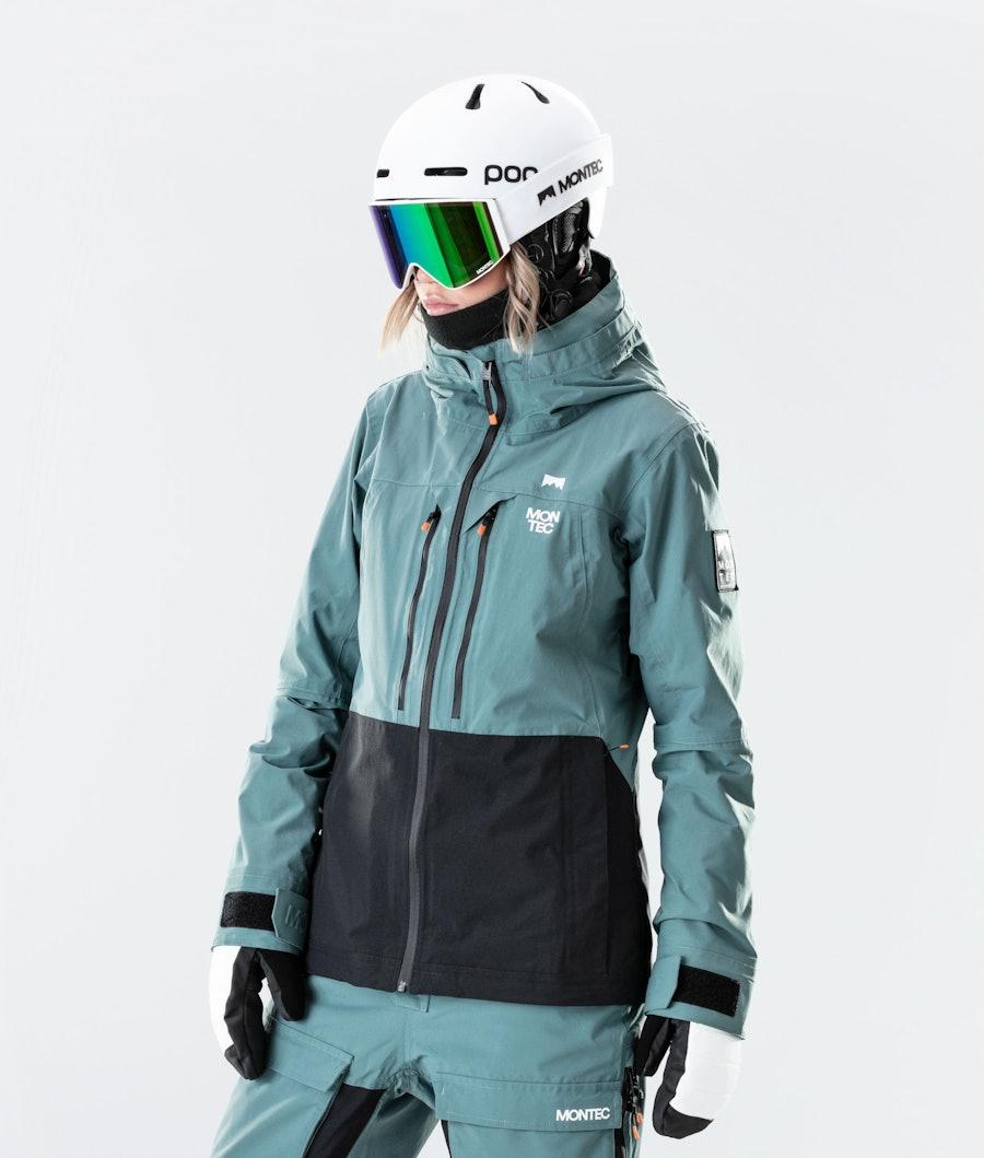 Moss Ski Jacket Women Atlantic/Black