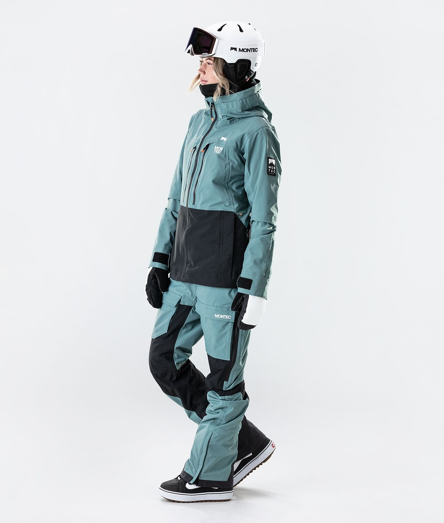 Montec Moss Snowboardjacke Damen Atlantic/Black