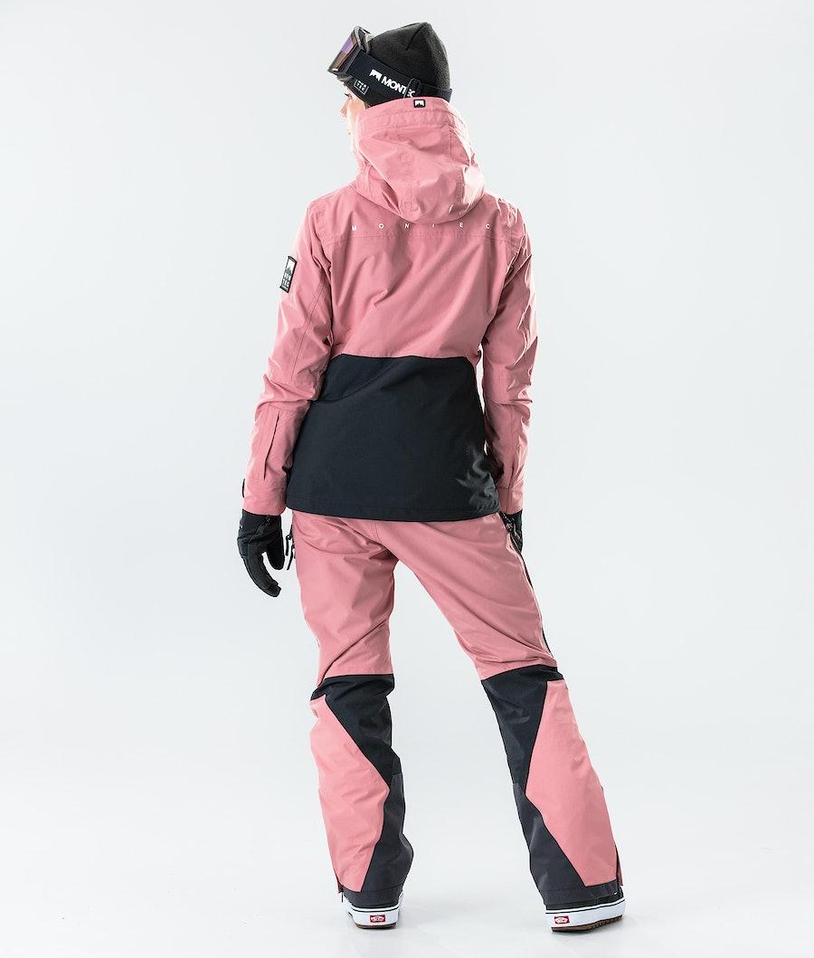 Montec Moss Women's Snowboard Jacket Pink/Black