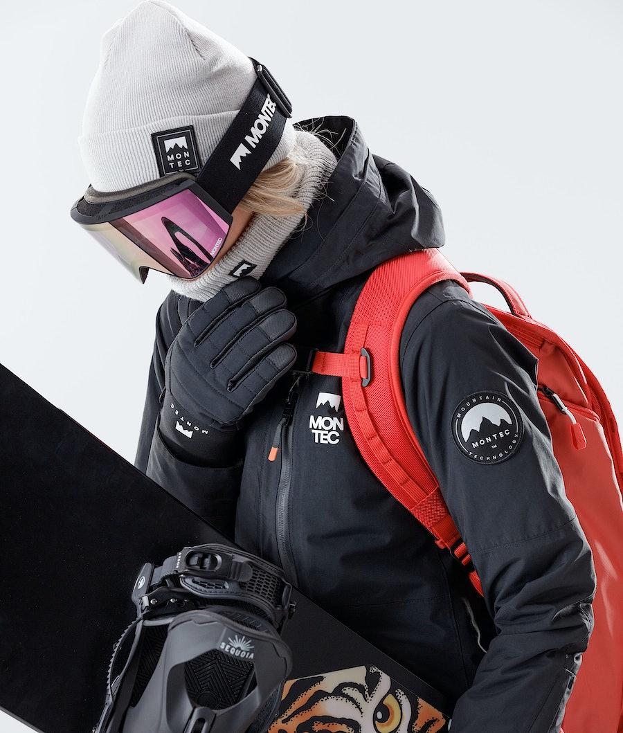 Montec Roc W Women's Snowboard Jacket Black