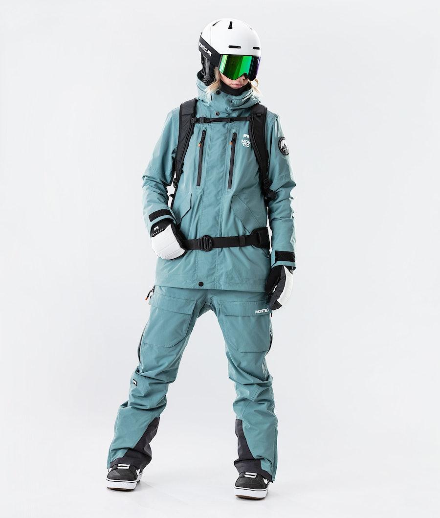 Montec Roc W Women's Ski Jacket Atlantic