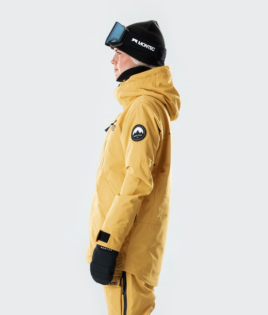 Montec Roc W Women's Ski Jacket Yellow