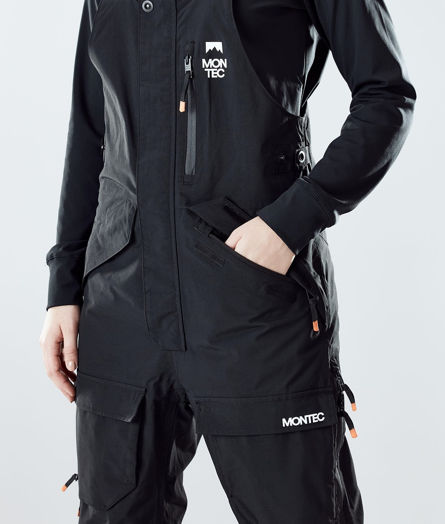 Montec Fawk W Snowboard Broek Dames Black