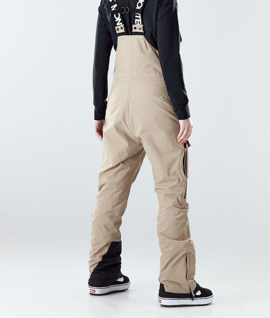 Montec Fawk W Women's Snowboard Pants Khaki