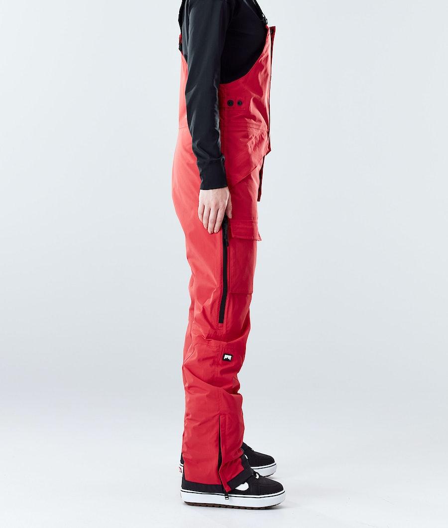 Montec Fawk W Women's Ski Pants Red