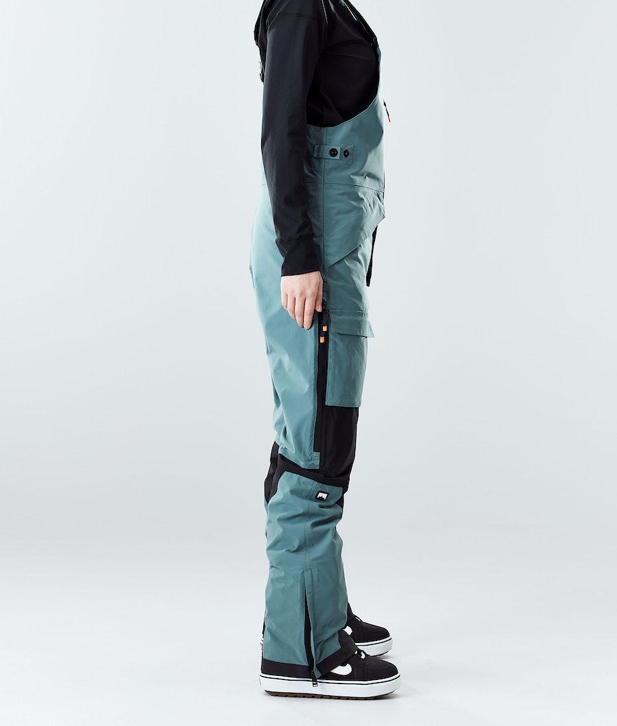 Montec Fawk W Women's Snowboard Pants Atlantic/Black